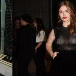 Holland Roden - leaving The Giorgio Armani Pre Oscar Party in L.A.