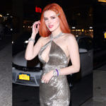 Bella Thorne cleavy - outside Carnegie Hall in NYC
