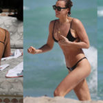 Irina Shayk – bikini candids in Miami Beach