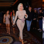 Khloe Kardashian - wearing sheer outfit in Sin City, Las Vegas