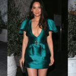 Olivia Munn pokies - The Hollywood Reporter and Jimmy Stylists Dinner Avra in Beverly Hills