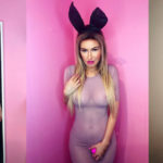 Ana Braga see-thru –  Easter photoshoot
