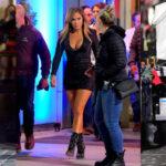Jennifer Lopez - on the set of Hustlers in New York