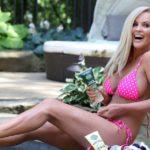Jenny McCarthy - bikini candids at a pool in L.A.