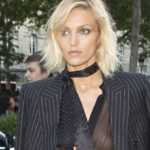 Anja Rubik in a Sheer Top and other Daily Links