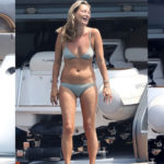 Kate Moss - bikini candids in St Tropez