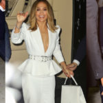 Jennifer Lopez - arrives to Ultra Beauty for a perfume launch party in New York