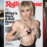 Miley Cyrus topless - Rolling Stone Magazine