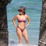 Jennifer Lopez- bikini candids in Turks and Caicos
